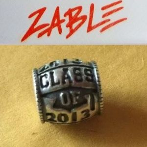 S925 Sterling Silver Class of 2013 Charm